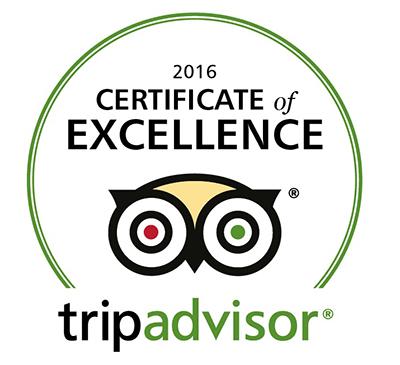 Khi nào thì có được chứng chỉ xuất sắc của tripadvisor (Certificate of Excellence)