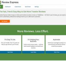 Giới thiệu về Review Express của Tripadvisor