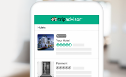 Thu hút lưu lượng truy cập với Vị trí tài trợ TripAdvisor dành cho nhà nghỉ